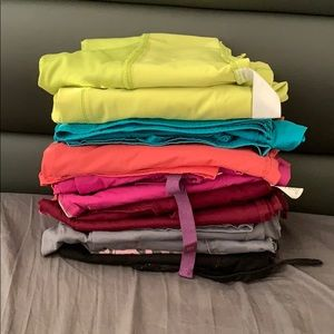Lot of 7 set Scrubs- Cherokee, Wonderwink S&M size